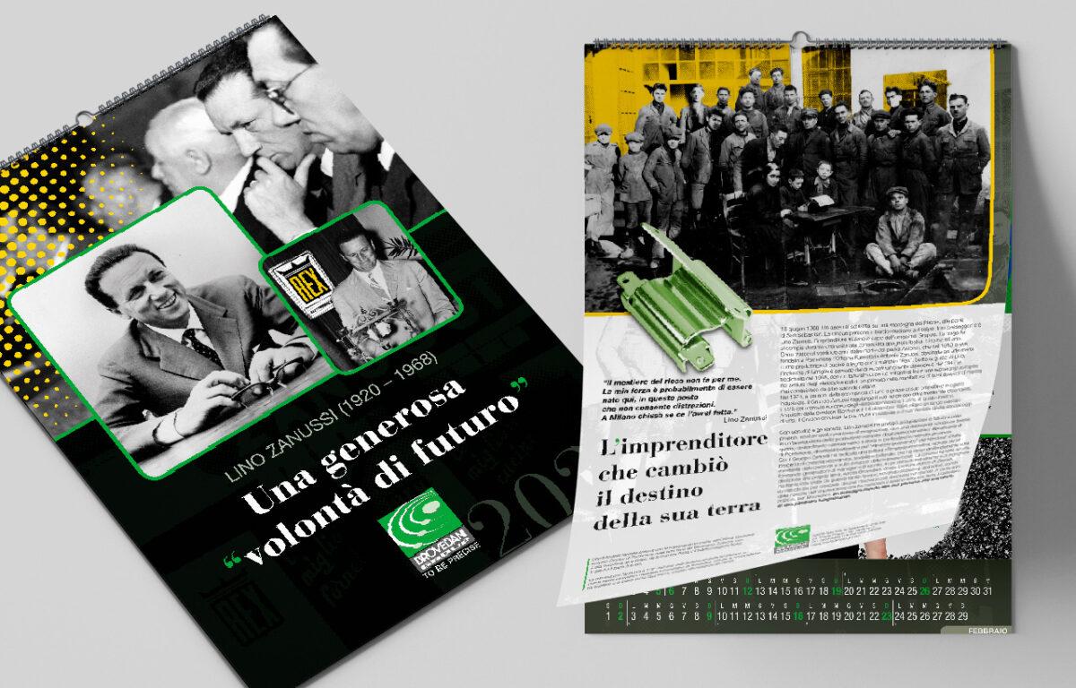 Calendario Brovedani 2020. Lino Zanussi